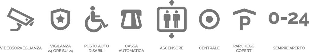 icone-servizi-parcheggio-coperto-monza-ponte-dei-leoni-vigilanza-cassa-automatica-controlla-videosorveglianza-sempre-aperto